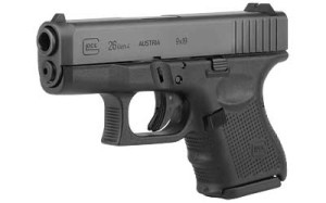 GLOCK 26 Gen4 9mm 10rd PRICE: $535.55 CONTACT FOR PURCHASE