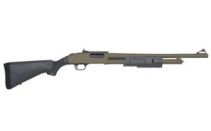 "MOSSBERG 500 FLEX TACTICAL 12g 20"" OD-GREEN PRICE: $477.99 CONTACT FOR PURCHASE"