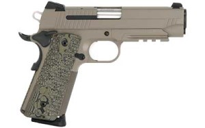SIG 1911 CARRY  FLAT DARK EARTH NIGHT SIGHTS PRICE: $909.99 CONTACT FOR PURCHASE